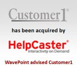 Slide 13 - Customer 1 and HelpCaster